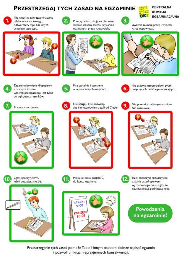Przeczytaj przed egzaminem!!!!!!!